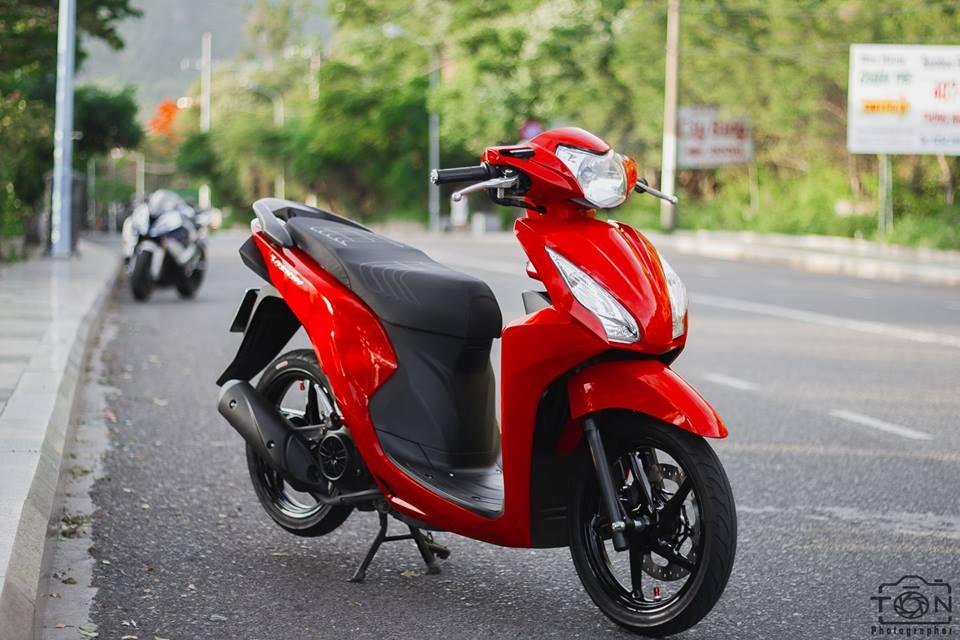 Honda Vision do khoe dang ben dan ca map BWM - 3