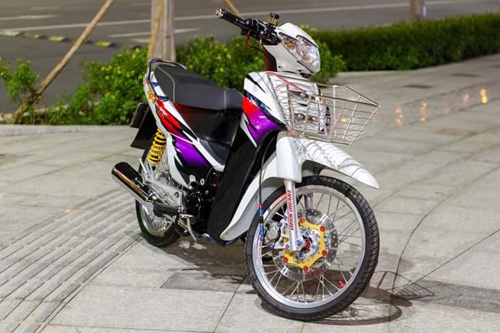 Honda Wave Zx lot xat voi dan chan dam chat the thao - 2