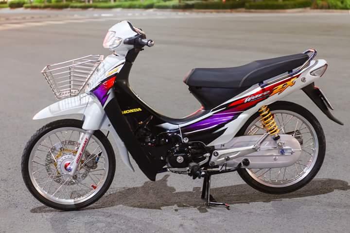 Honda Wave Zx lot xat voi dan chan dam chat the thao - 3