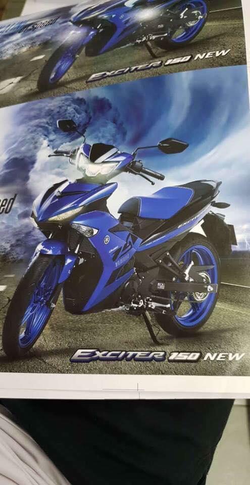 Hot Yamaha Exciter 150 NEW lo nhung hinh anh nong dau tien - 2