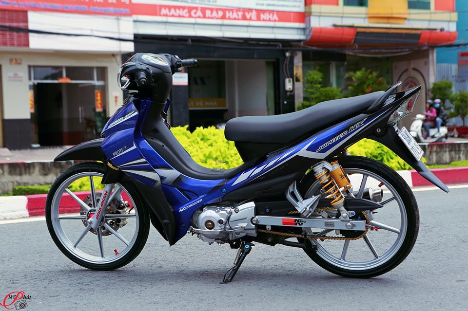 Jupiter MX Ban do day quyen ru cung dan do choi hang hieu tu Biker Viet