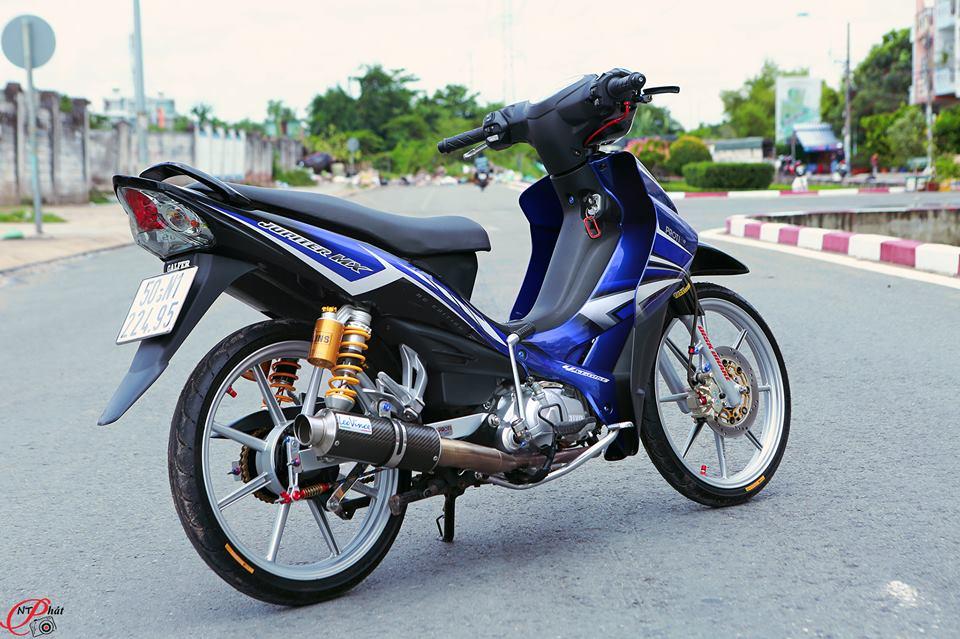 Jupiter MX Ban do day quyen ru cung dan do choi hang hieu tu Biker Viet - 20