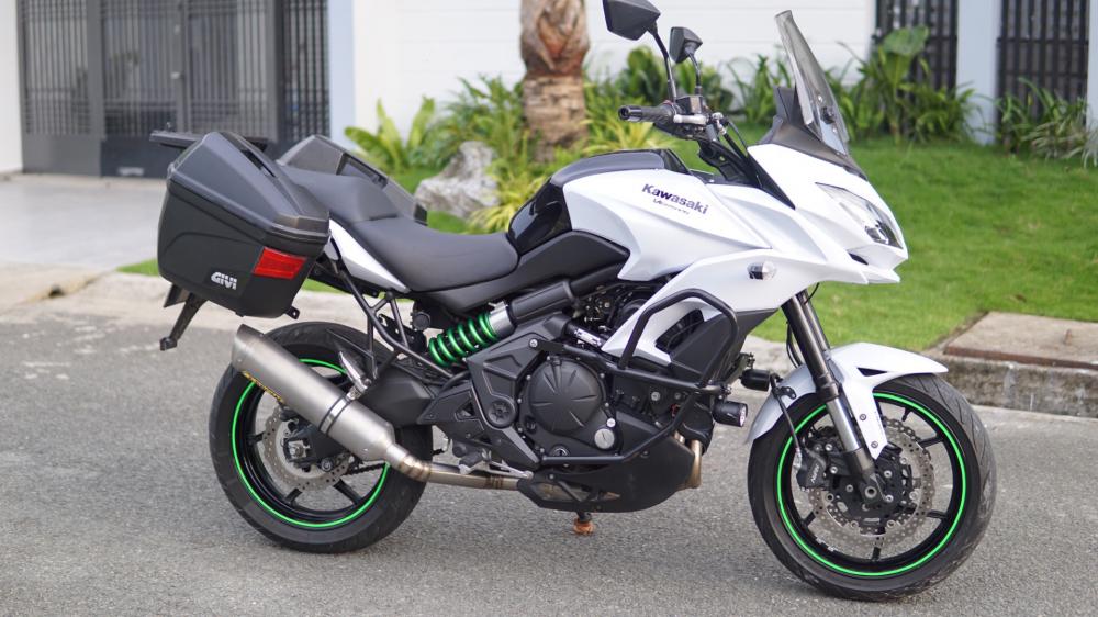 Kawasaki Versys 650 Full option Touring cho anh em thich di lai - 2