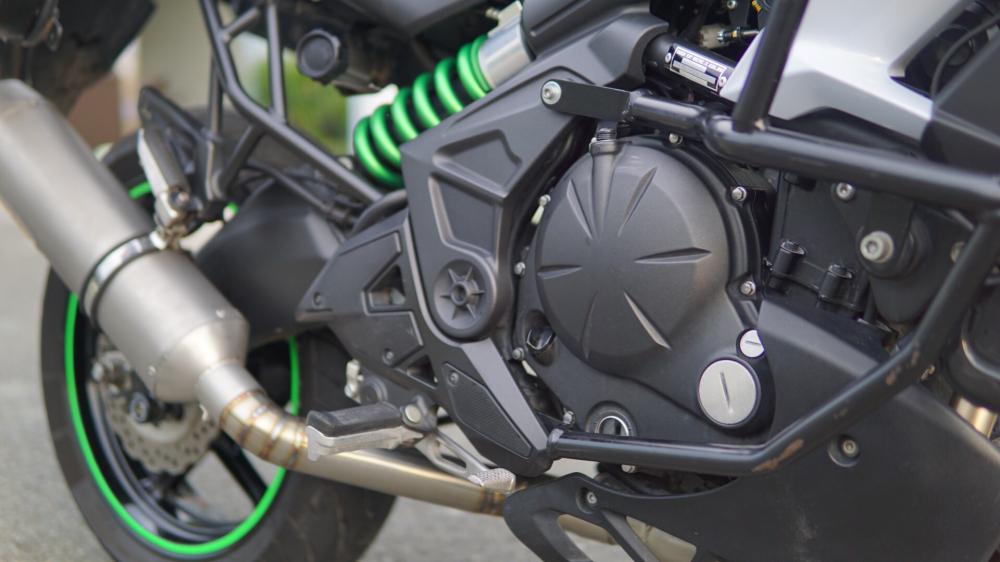 Kawasaki Versys 650 Full option Touring cho anh em thich di lai - 4