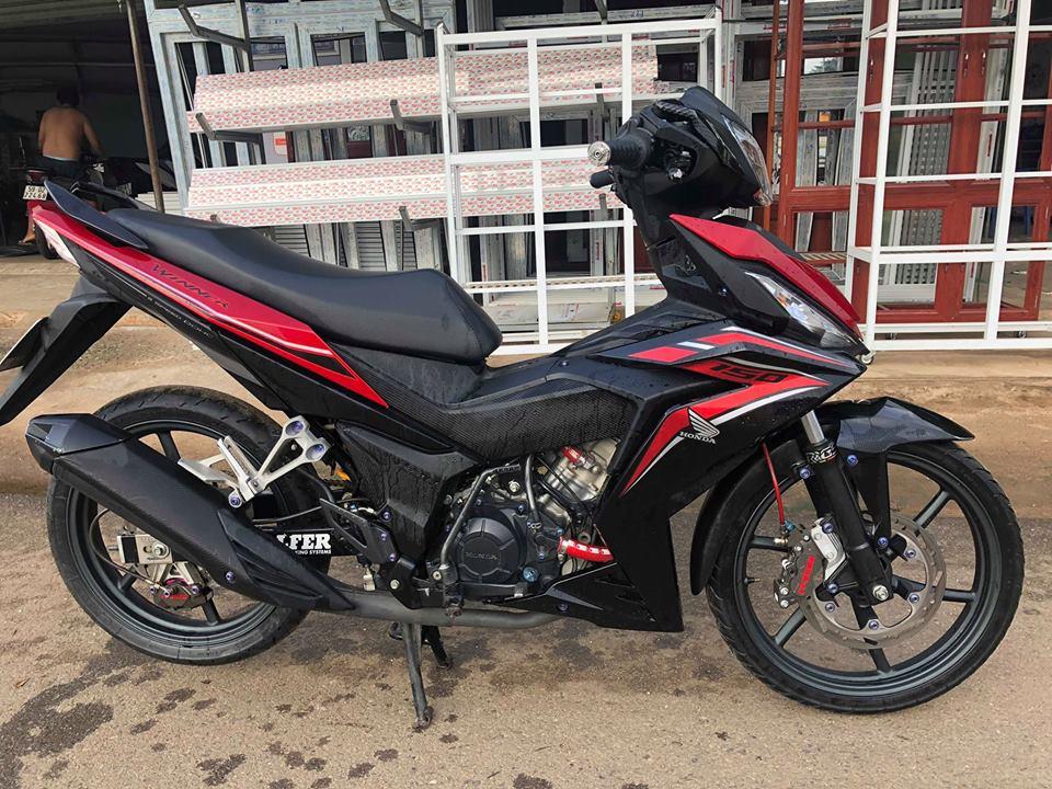 Winner 150 do con quai vat DOHC cuc khoe voi dan do choi chat khong tuong - 8