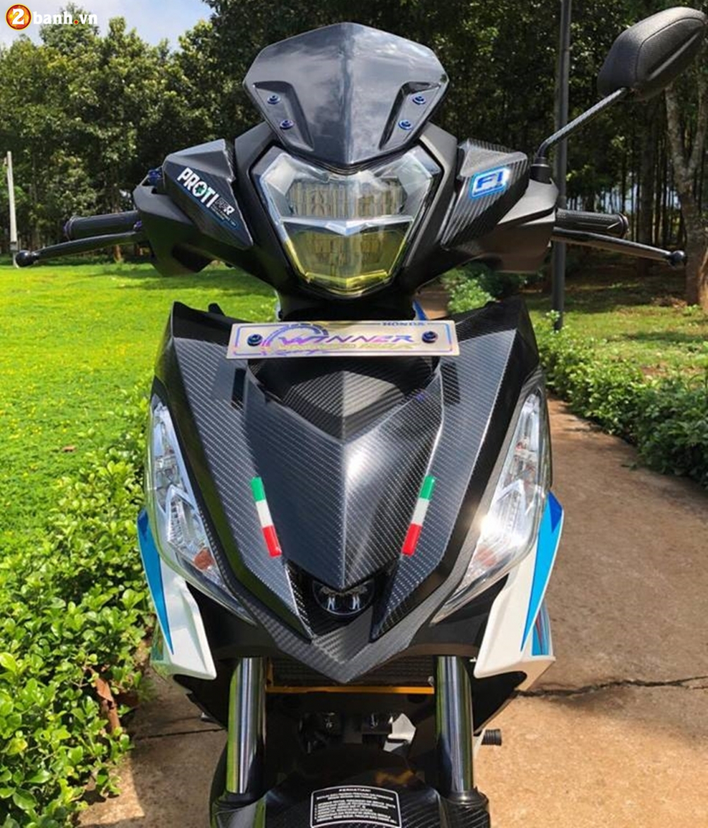 Winner 150 do phong cach Style zin gay me nguoi xem cua biker Long Khanh - 4