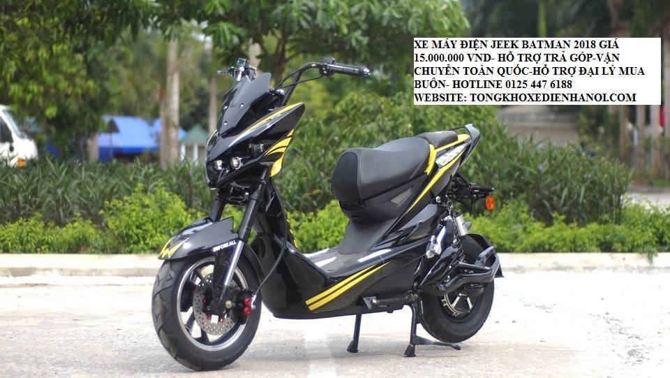 Xe dien Jeek Bat 2019 du mau dang duoc ban tro gia tai Tong kho xe dien ha Noi chi con 15trieu - 20