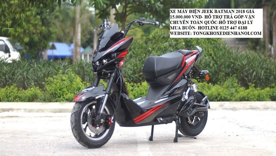 Xe dien Jeek Bat 2019 du mau dang duoc ban tro gia tai Tong kho xe dien ha Noi chi con 15trieu - 22