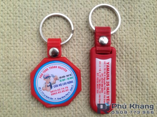 Xuong san xuat moc khoa gia re moc khoa cao su dap noi - 8