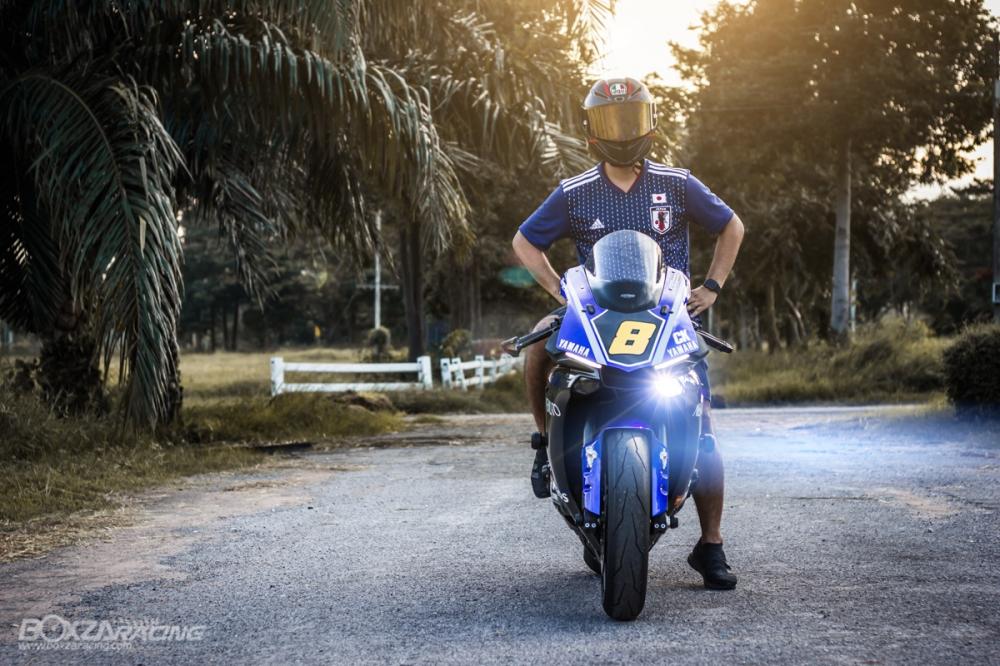 Yamaha R1Ca duoi gai doc day xuc cam qua lan Makeover - 26