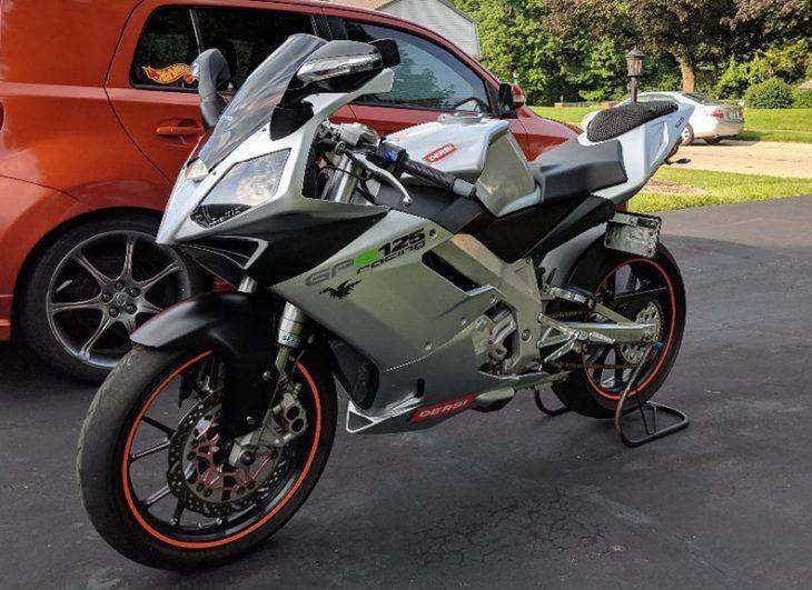 Yamaha TZR 125cc 2 ky dep mat qua