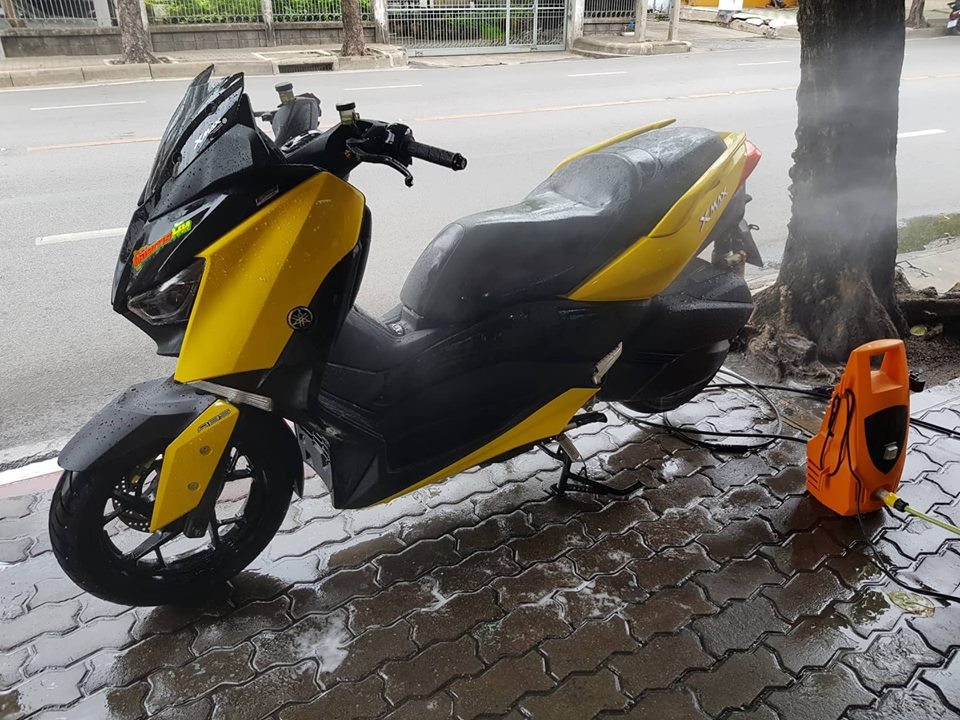 Yamaha XMax 300 ban do full option tren dat Thai - 16
