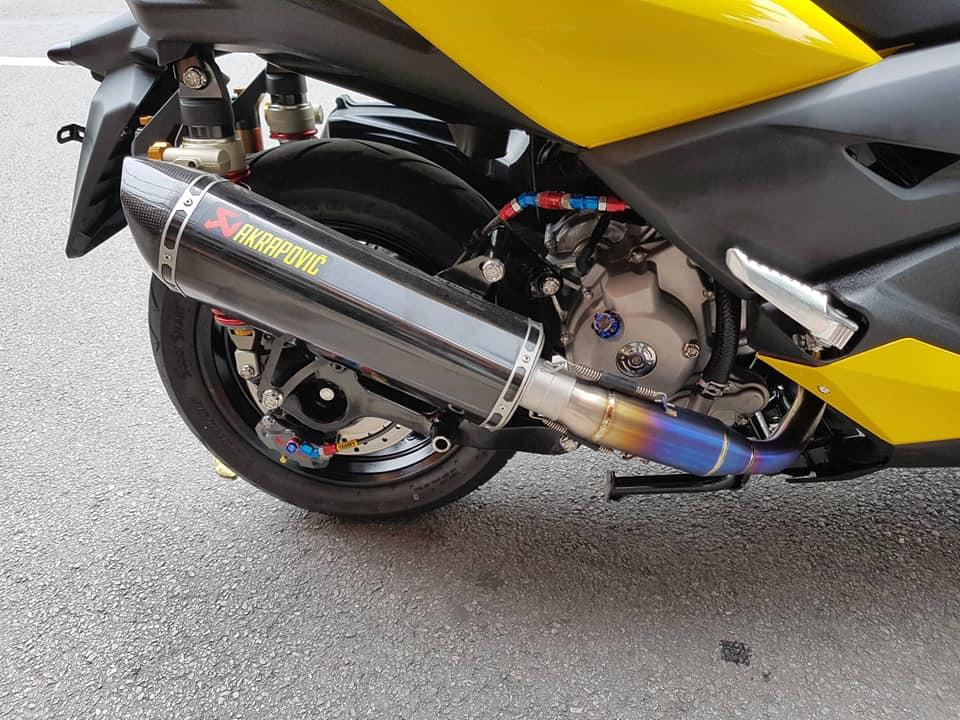 Yamaha XMax 300 ban nang cap tron goi tai NBB Racing - 17