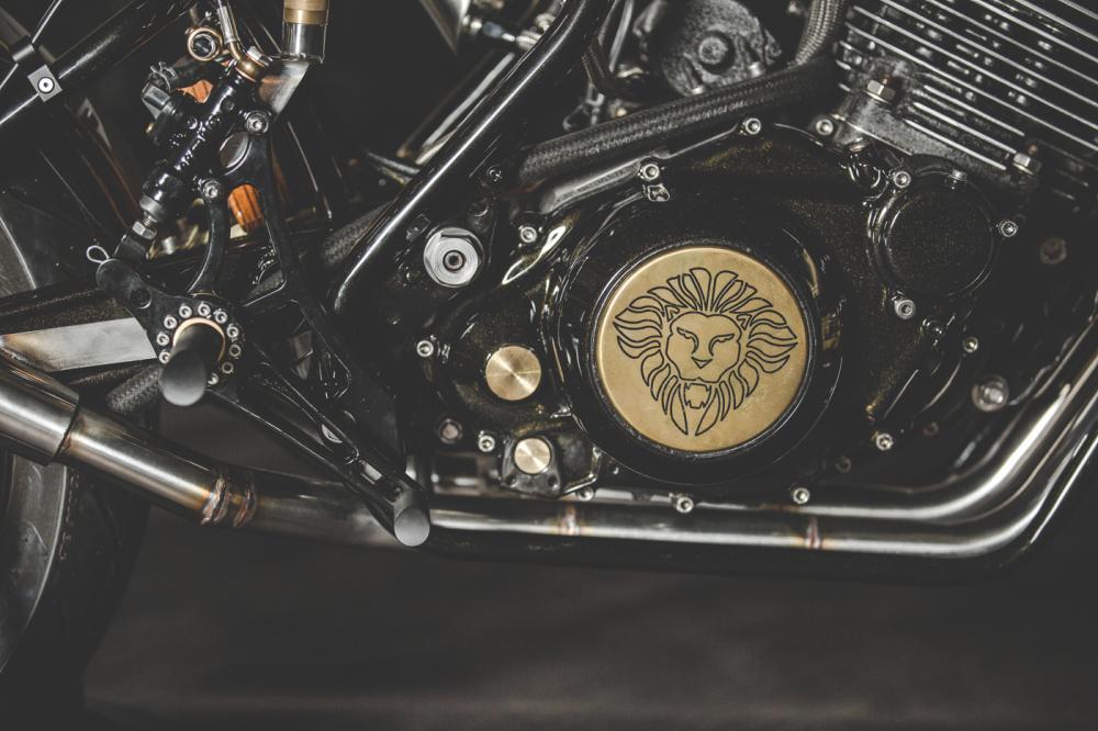 Yamaha XT600 ban do phong cach Dirt Racer den tu Lions Den Motorcycles - 13