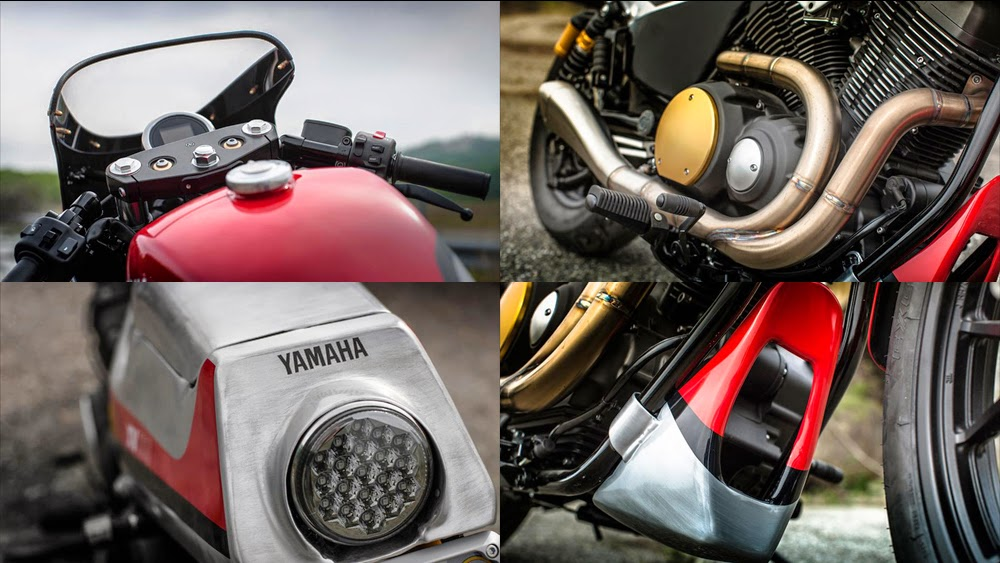 Yamaha XV950 ban sua doi den tu Lowride - 7