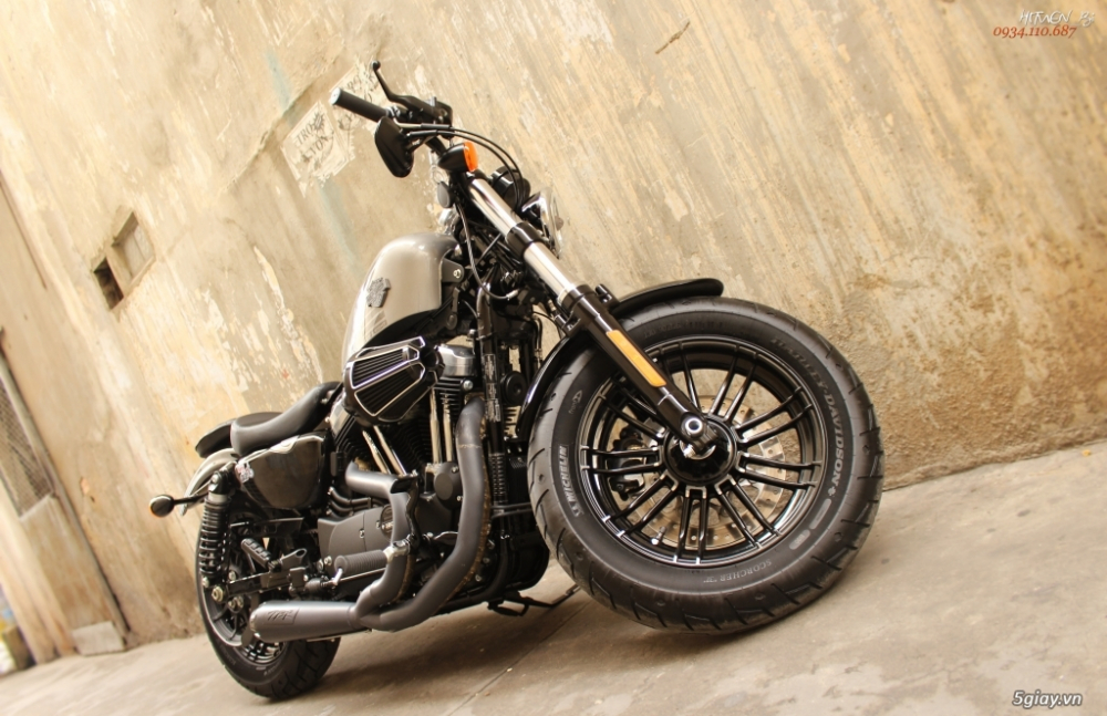___ Can Ban ___HARLEY DAVIDSON Fortyeight 1200cc ABS 2018___ - 5