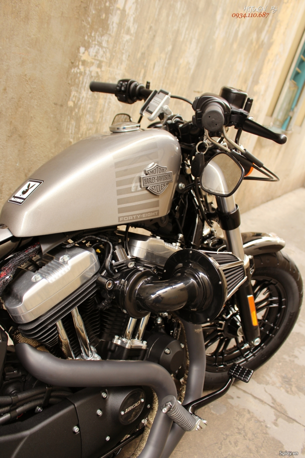 ___ Can Ban ___HARLEY DAVIDSON Fortyeight 1200cc ABS 2018___ - 6