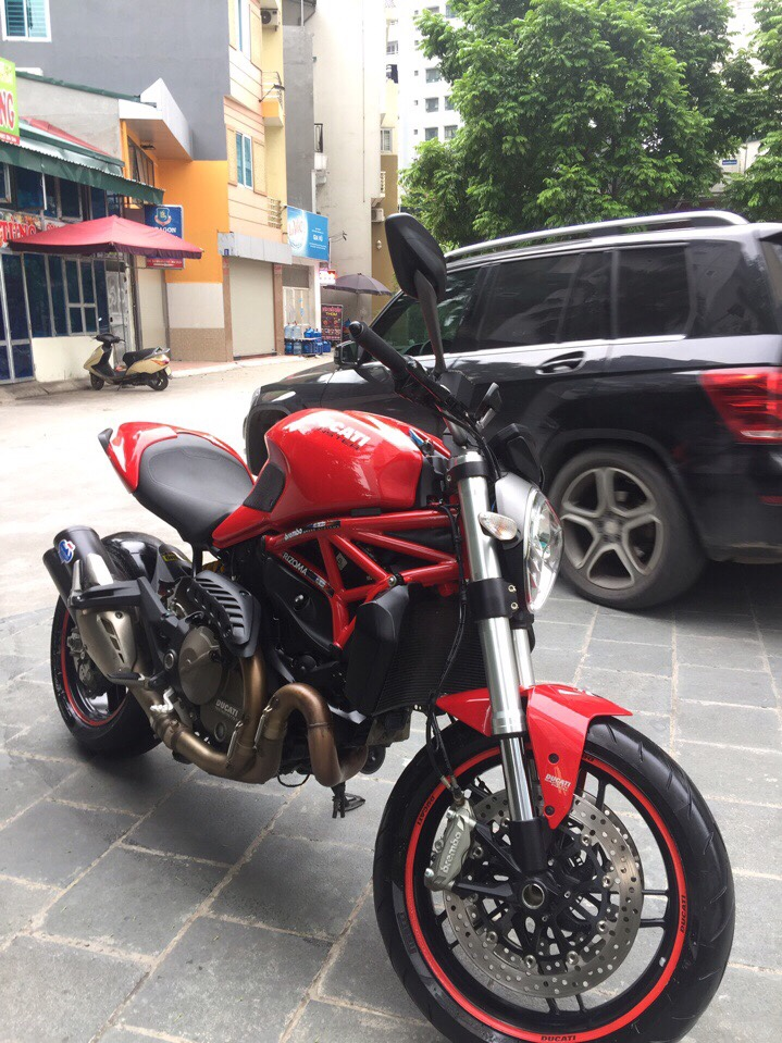 __Can Ban Ducati Monster 821 ABS date 2015 odo 13000km HQCN xe ken dep nhu xe thung ngay chu - 2