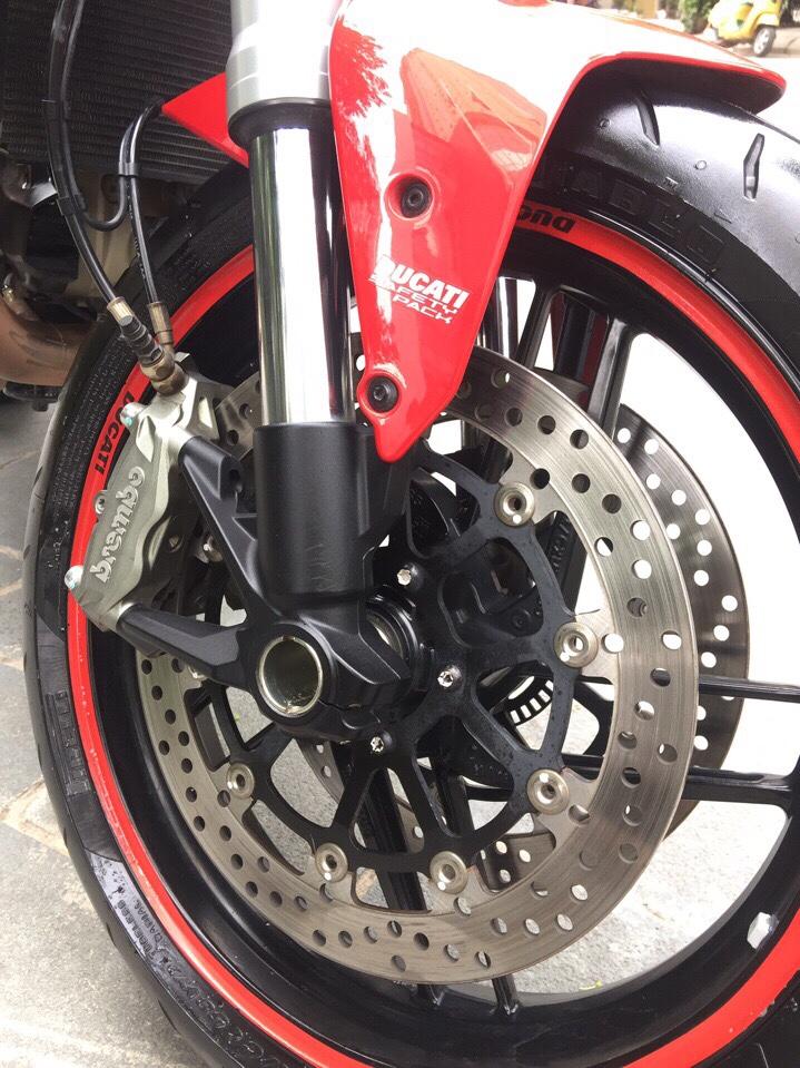 __Can Ban Ducati Monster 821 ABS date 2015 odo 13000km HQCN xe ken dep nhu xe thung ngay chu - 9