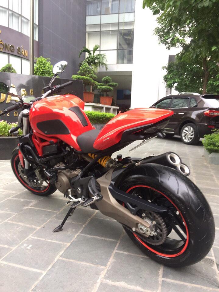 __Can Ban Ducati Monster 821 ABS date 2015 odo 13000km HQCN xe ken dep nhu xe thung ngay chu - 10