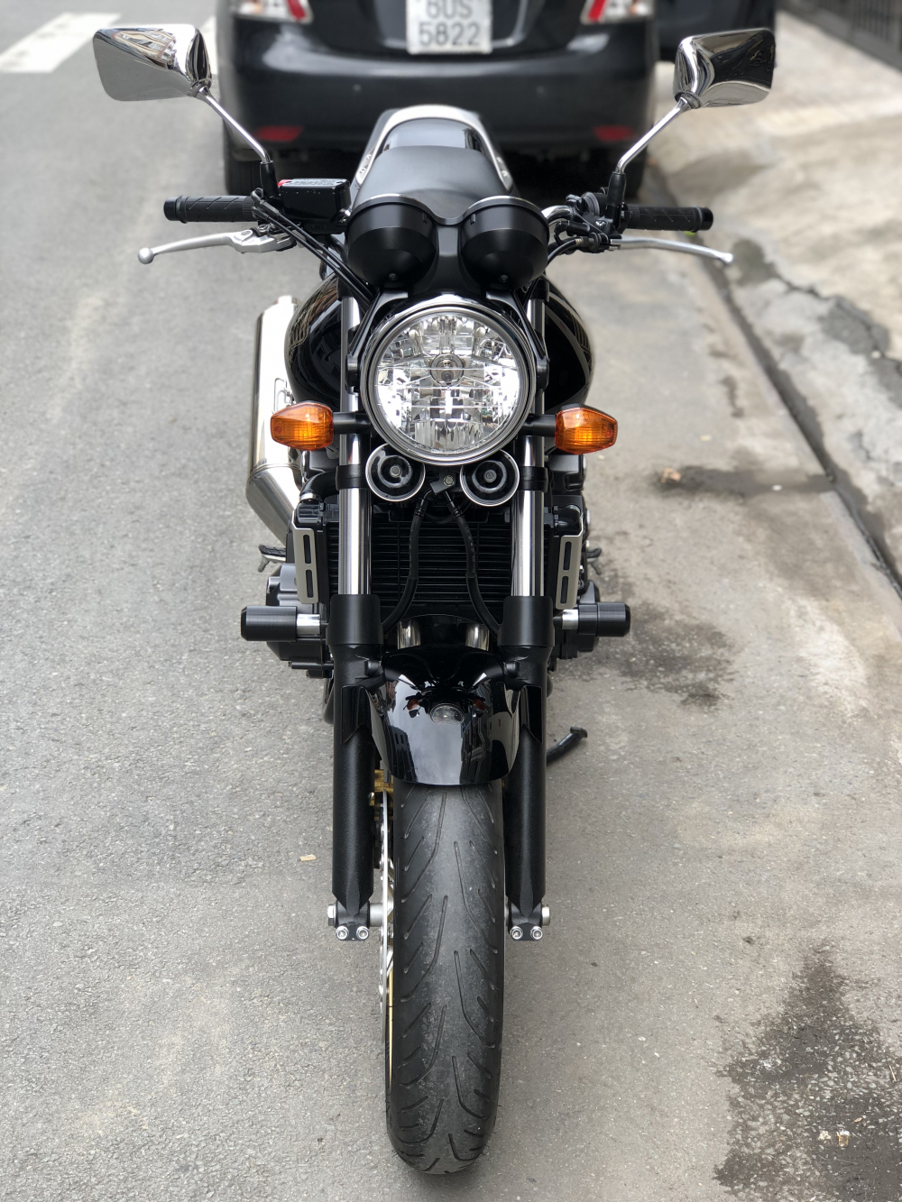__Can Ban Honda CB400 Revo date 2012 HQCN odo 7000km mau denngay chu dung ban - 4