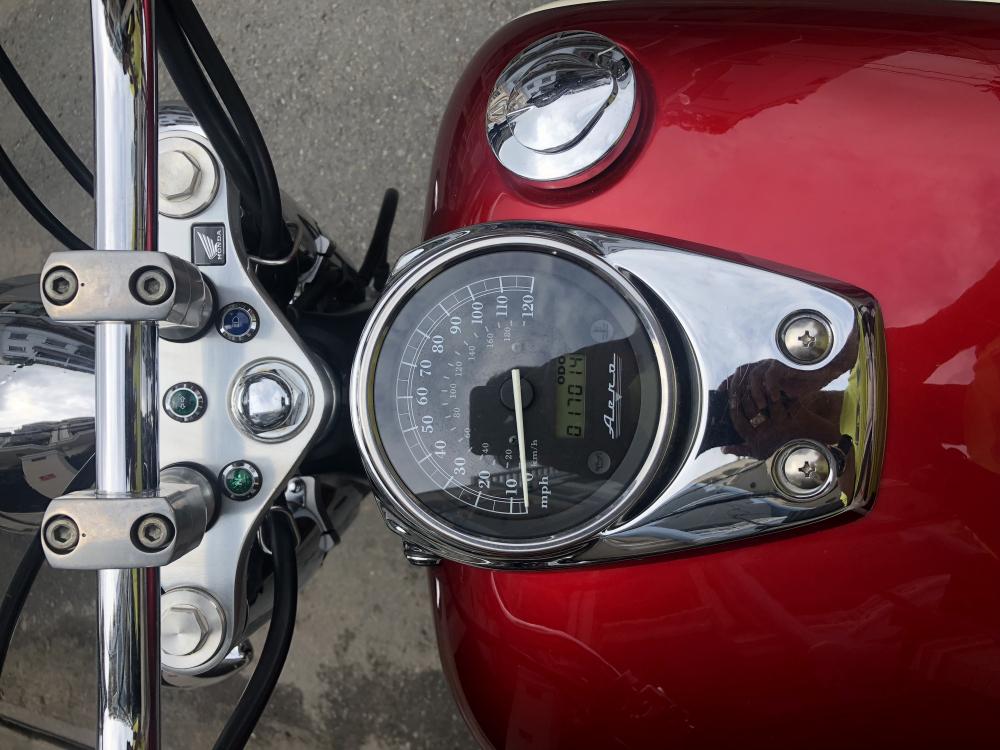 __Can Ban Honda Shadow Aero date 2008 dang ky lan dau cuoi 2009 HQCN odo 16000km ngay chu - 3