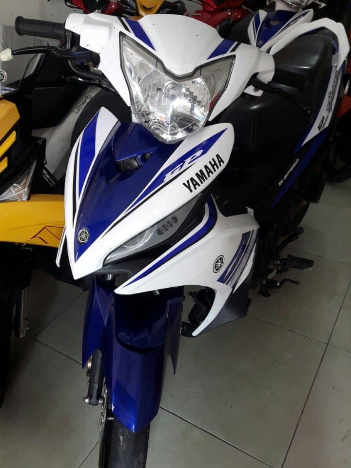 BAN XE MAY CU TRA GOP Yamaha Exciter 135 con tay_ khong can chung minh thu nhap