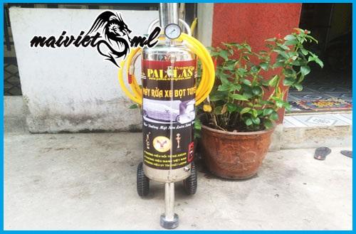 Binh phun bot tuyet rua xe Pallas 16L chuyen dung