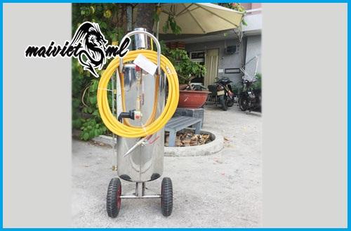 Binh rua xe bot tuyet 702 35L cao cap gia re - 2