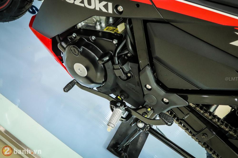 Can canh Suzuki Raider 150 Fi phien ban dac biet Yoshimura vua duoc ra mat - 31