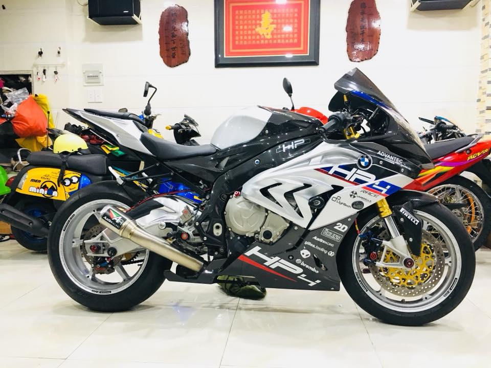 Dien kien sieu pham BMW S1000RR cua Biker dinh dam Sai Thanh