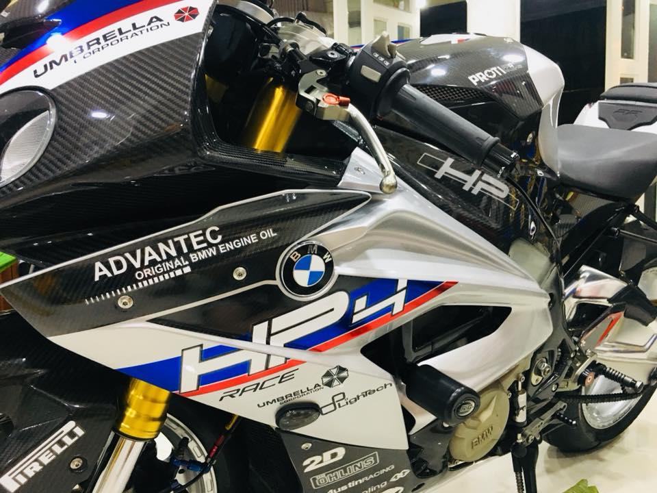 Dien kien sieu pham BMW S1000RR cua Biker dinh dam Sai Thanh - 6