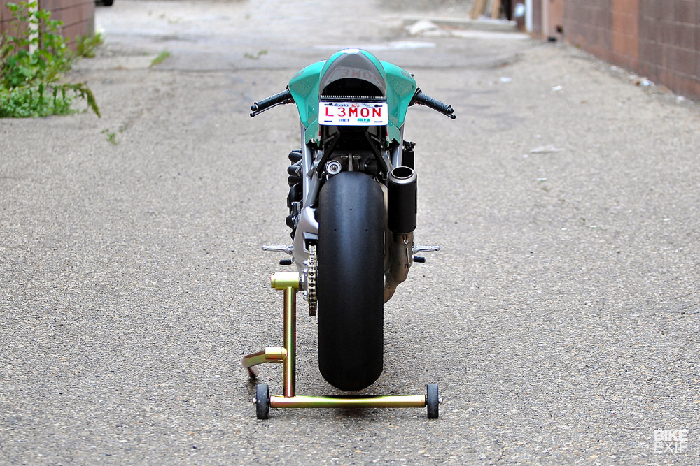 Ducati 848 hoi sinh khong tuong voi dien mao Cafe Racer - 10