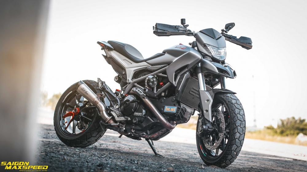 Ducati Hyperstrada 821 ban do bon tien cua Biker Sai Thanh - 18