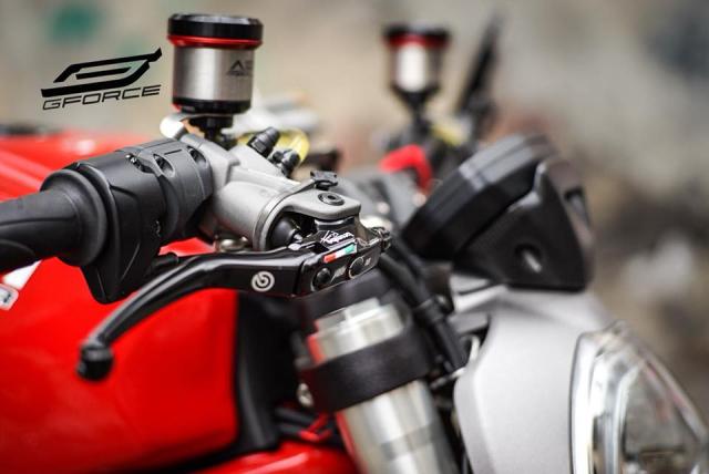Ducati Monster 821 Huyen thoai ve nhung con quai vat duong pho - 4