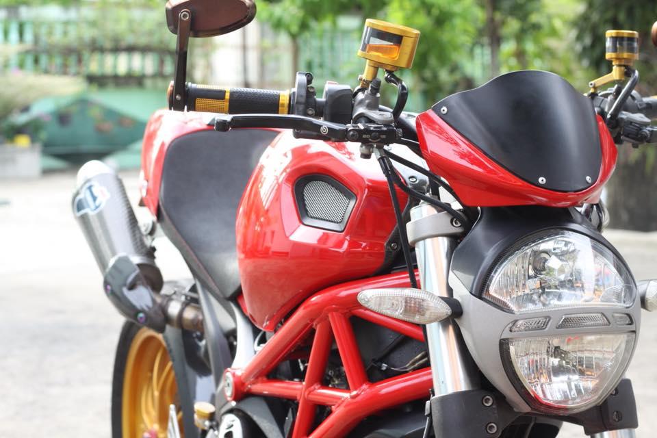 Ducati Monster 796 nang cap day noi bat tren dat Thai - 4