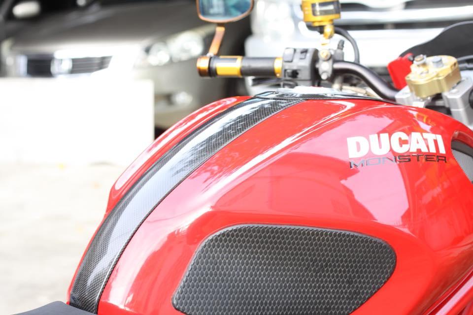 Ducati Monster 796 nang cap day noi bat tren dat Thai - 10