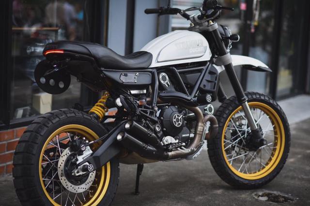 Ducati Scrambler Desert Sled ban nang cap tinh te den tu Mugello - 10