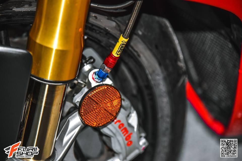 Ducati V4 Panigale ket hop tinh te voi dan thuong hieu Gale Speed - 7