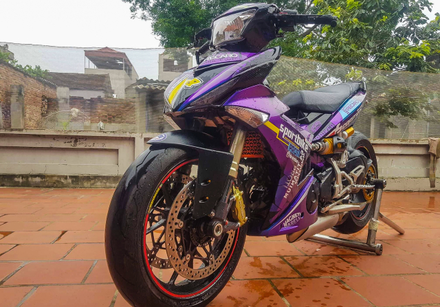 Exciter 150 do dat giai nhi Fest 2018 mien Bac voi dan chan Ducati 1299 panigale S