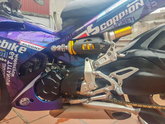 Exciter 150 do dat giai nhi Fest 2018 mien Bac voi dan chan Ducati 1299 panigale S - 8