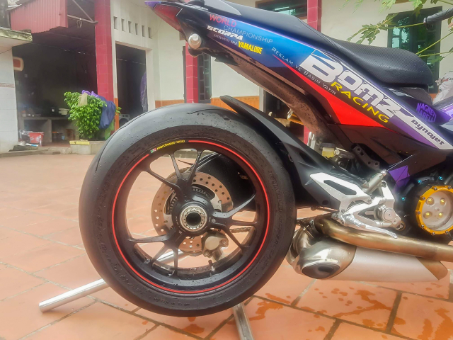 Exciter 150 do dat giai nhi Fest 2018 mien Bac voi dan chan Ducati 1299 panigale S - 9