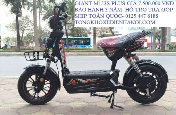 Giant m133 plus moi tinh gia chi 6tr8 du mau tai Tong kho xe dien Ha Noi