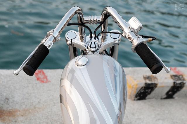 HarleyDavidson Sportster XL1200 an tuong voi ban do Bobber GREY MATTER - 4