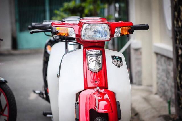 Honda Dream do he thong treo Thuy Dien dat gia khoe dan tren pho chieu - 4