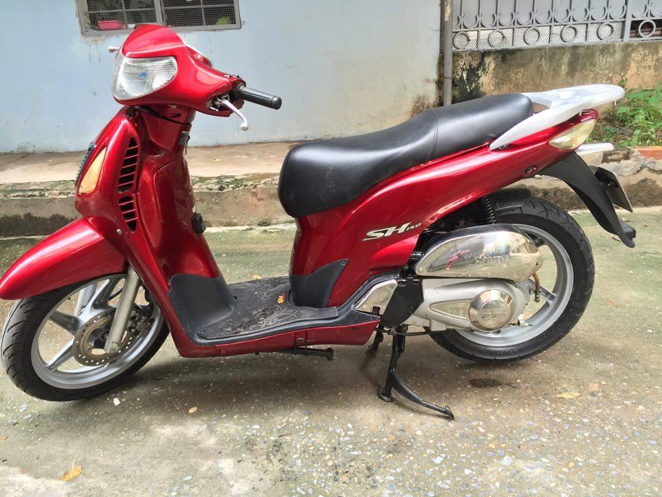 Honda Sh 150cc doi cuoi dang ky 2009 mau do dun Hn 30H9 dep may nguyen thuy 28tr500 - 4