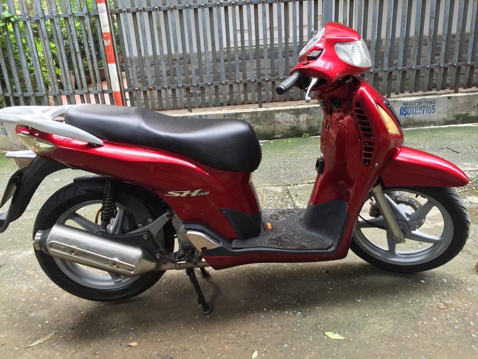 Honda Sh 150cc doi cuoi dang ky 2009 mau do dun Hn 30H9 dep may nguyen thuy 28tr500 - 6