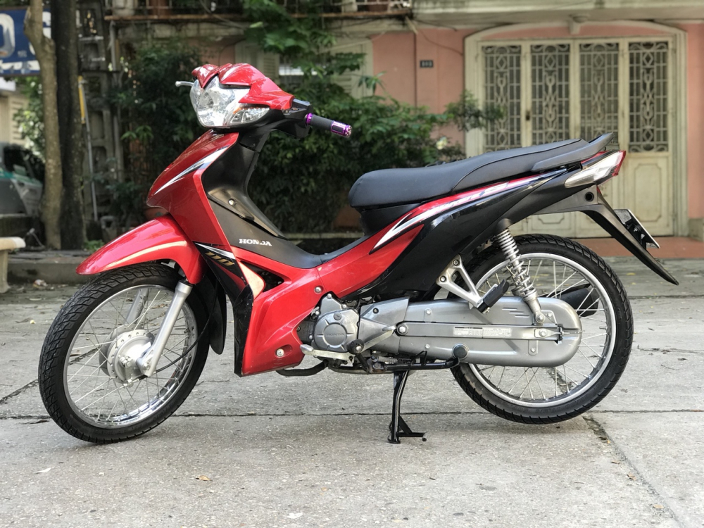 Honda Wave S 110 mau do den doi canh mong - 2
