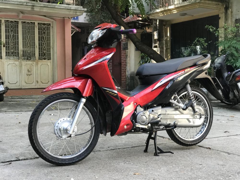 Honda Wave S 110 mau do den doi canh mong - 6