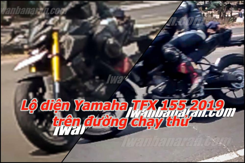Yamaha TFX 2019 lo dien dan dau nhu MT09 cung nhieu nang cap thu vi
